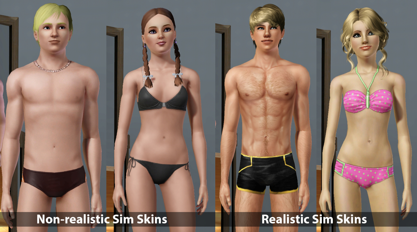 Sims Kids Muscle Tone Definition