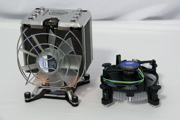 Intel Gulftown stock cooler