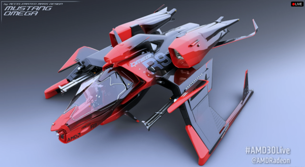 Star Citizen AMD Radeon Mustang