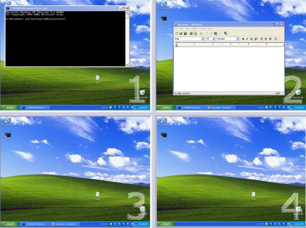 Windows XP Virtual Desktop