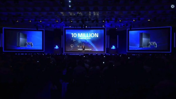 sony ps4 10 million