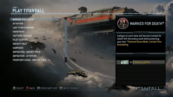 titanfall lobby screenshot