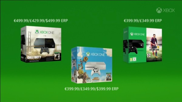 xbox one holiday 2014 bundles