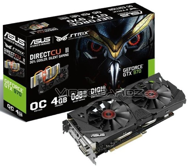 ASUS Geforce GTX970 Strix