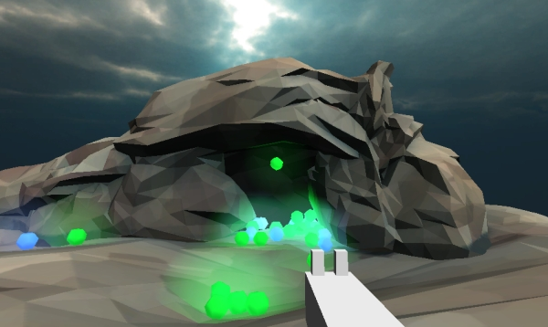 interactive_cave_shooting_simulator