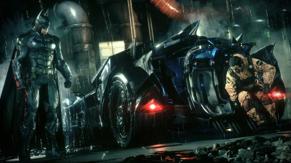 The Batmobile has space for two passengers. It must be terrifying/ awesome in there