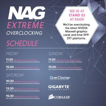NAG Overclocking social media ad