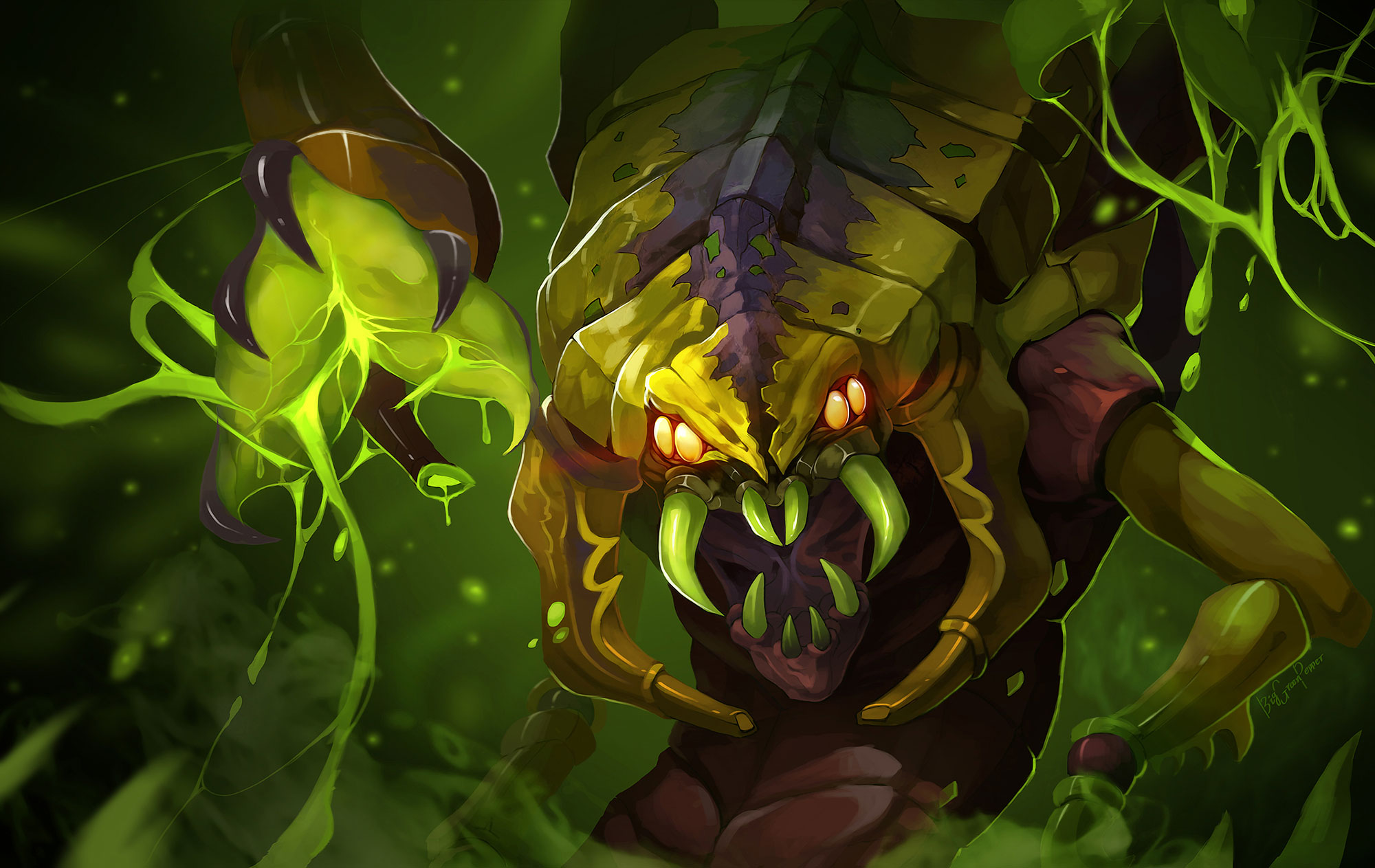 dota_2_lesale_deathbringer_Venomancer_by_biggreenpepper