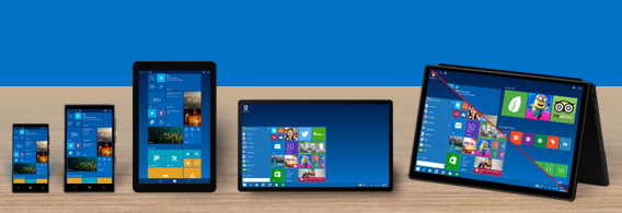 mobile windows 10 redesign
