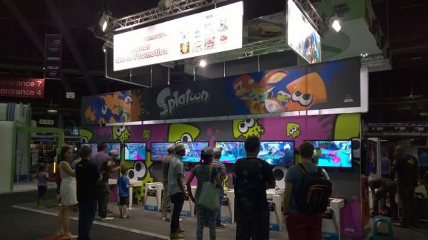 rAge 2014 Nintendo Wii U Splatoon