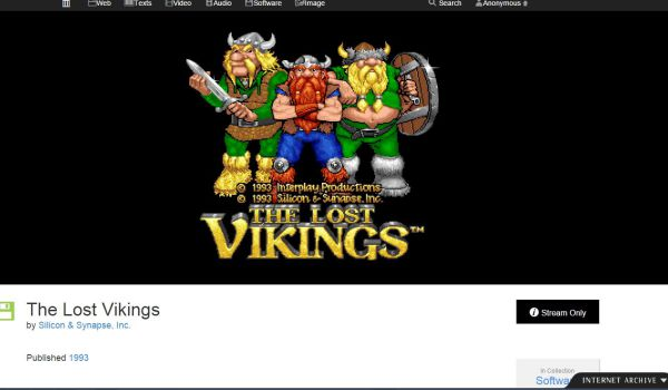 internet archive free dos games