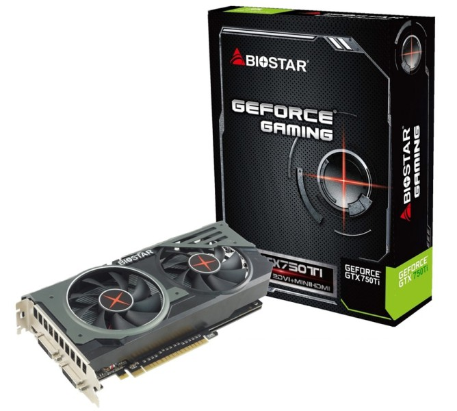 Biostar Geforce GTX 750Ti (2)