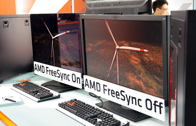AMD Freesync demo