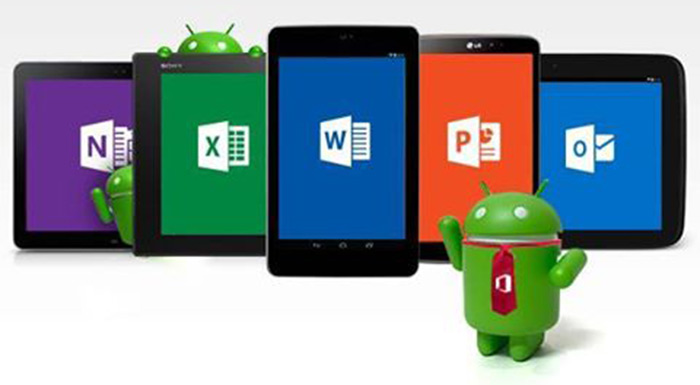 office on android tablets