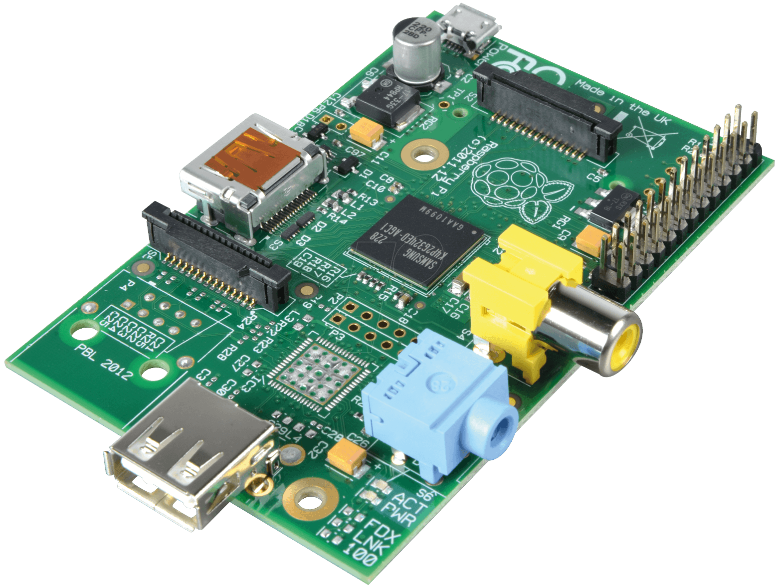 It's similar to a Raspberry Pi (above), but a bit less complicated.