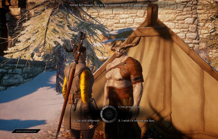 Dragon Age Inquisition Qunari image 4