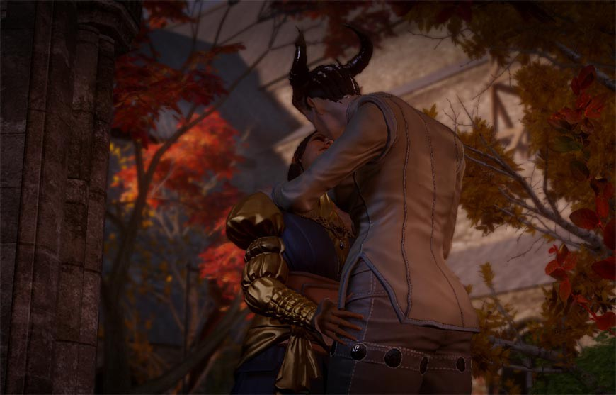 Playing a Qunari in Dragon Age: Inquisition is the worst | NAG