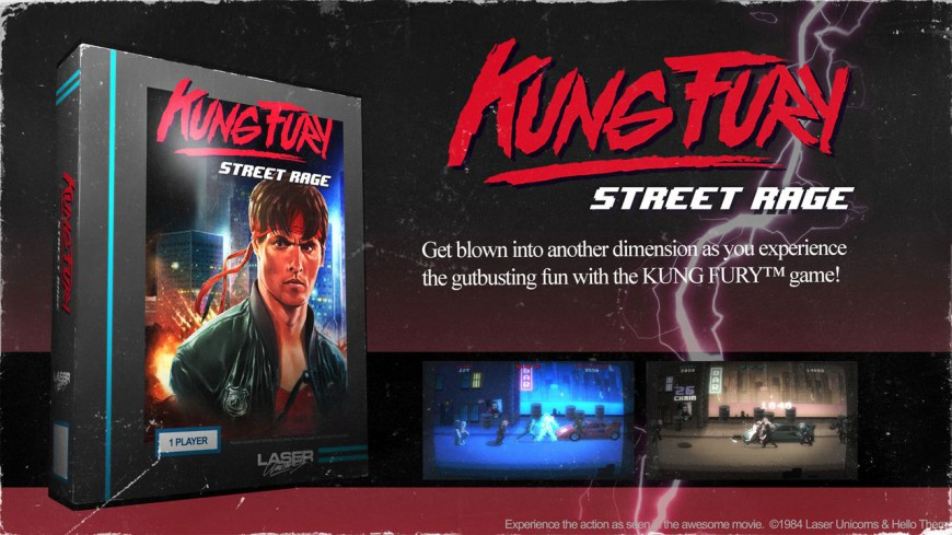 KUNG FURY title