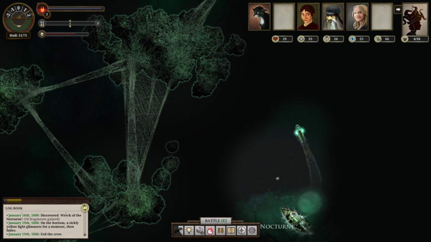 Sunless Sea screenshot 1