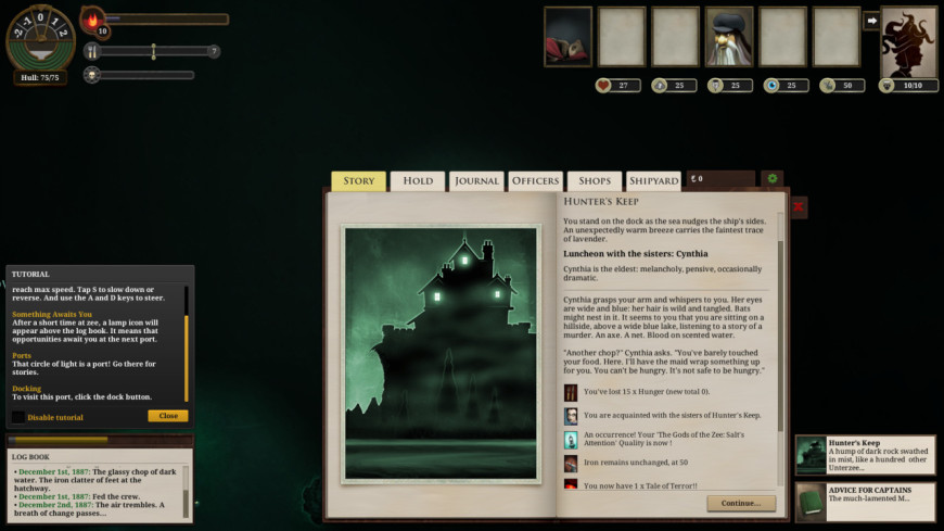 Sunless Sea screenshot 4