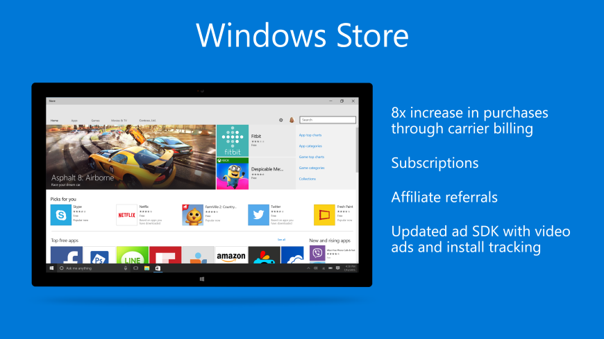 windows 10 store improvements