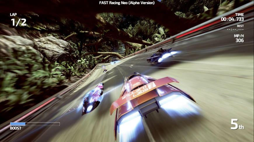 Fast racing cover