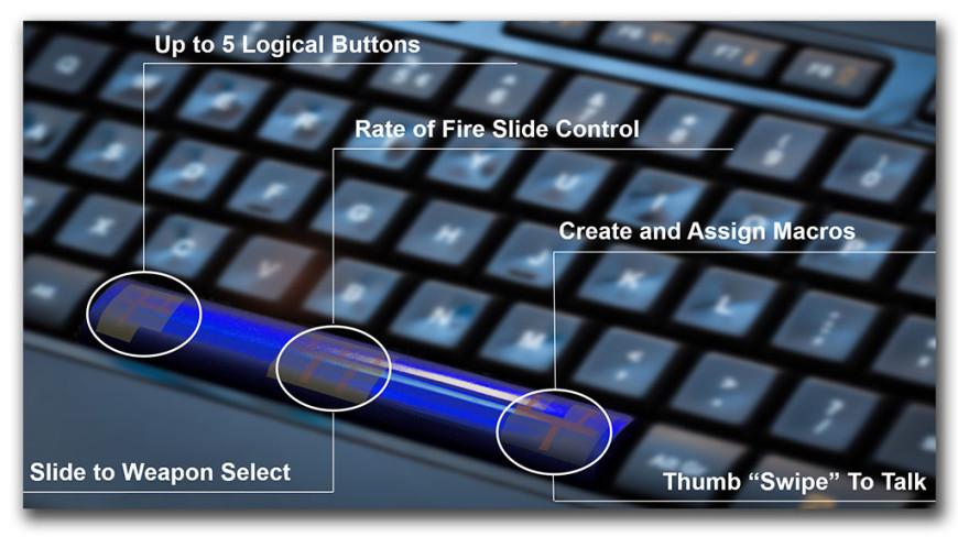 Synaptics SmartBar Capacitive Spacebar