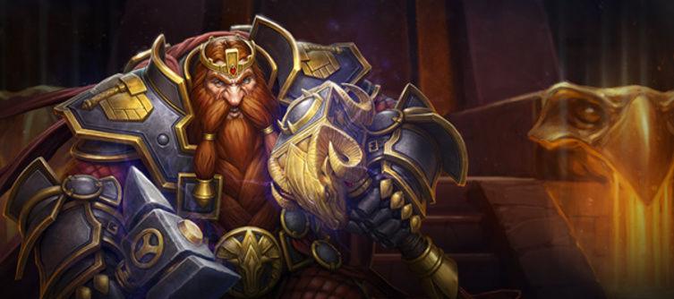 hearthstone new hero dwarf