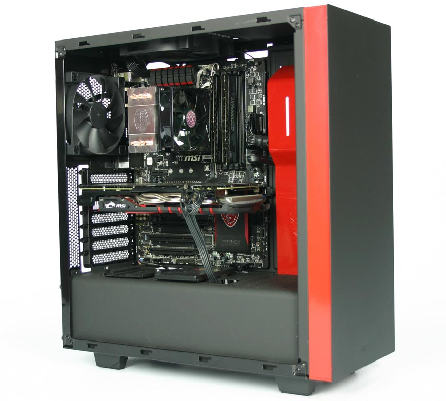 hardware review evetech intel core i7 4790 4 0ghz gtx 970 gaming pc nag. Black Bedroom Furniture Sets. Home Design Ideas