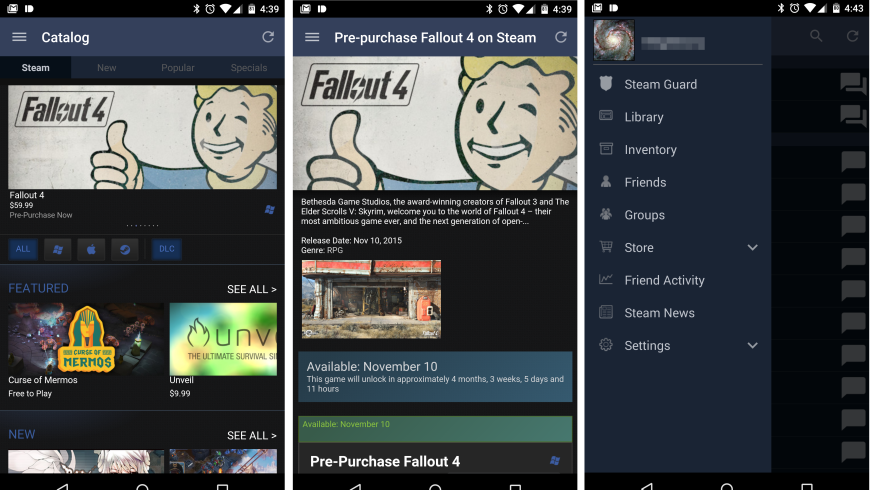 valve-steam-android-client