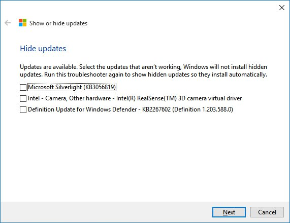 windows-10-hide-or-show-updates-2