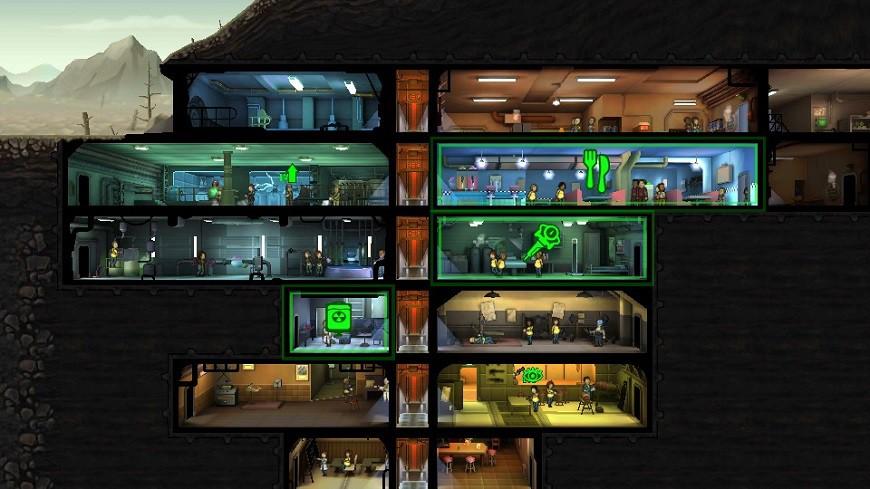 Fallout Shelter Antfarm view (2)