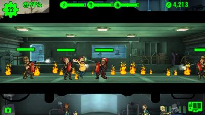 Fallout Shelter Panicking