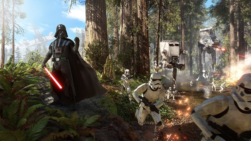 Star Wars Endor battle