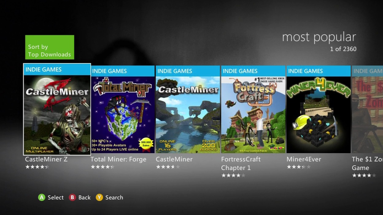 all free games on xbox 360 marketplace 2015