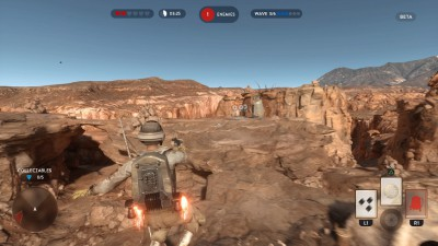 STAR WARS Battlefront jetpack