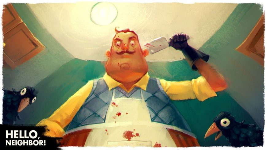 hello neighbor art 4