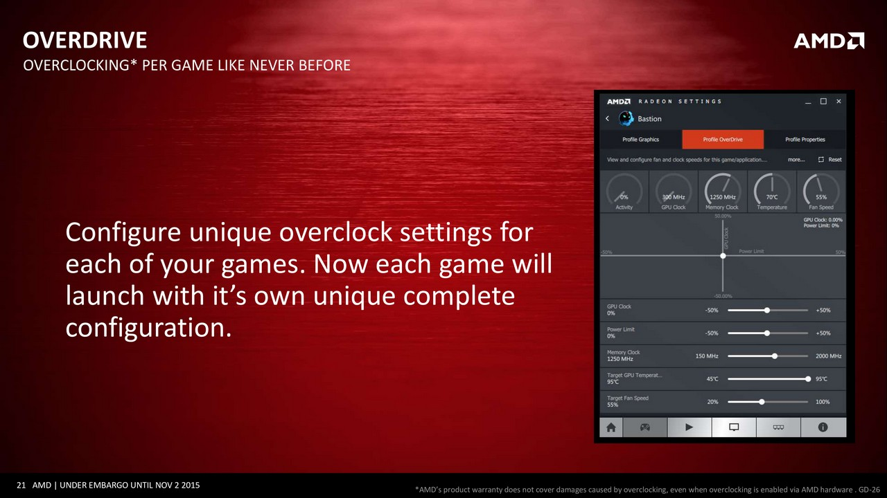 Global overdrive radeon settings how to keep the fan running