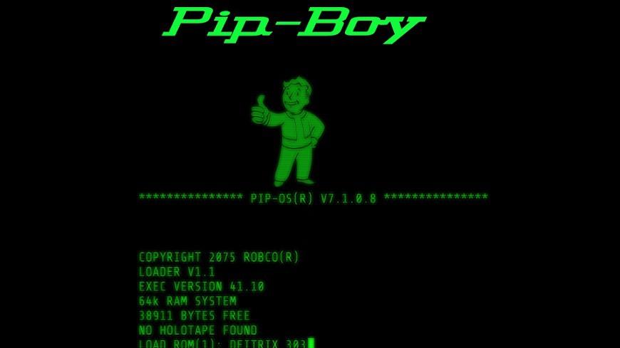 Pip Boy cover