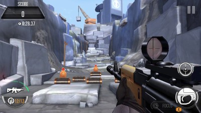 Sniper X Shooting range