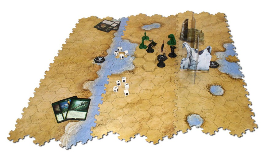 Board game review: Magic: The Gathering – Arena of the ... Planeswalker Arena Board Game