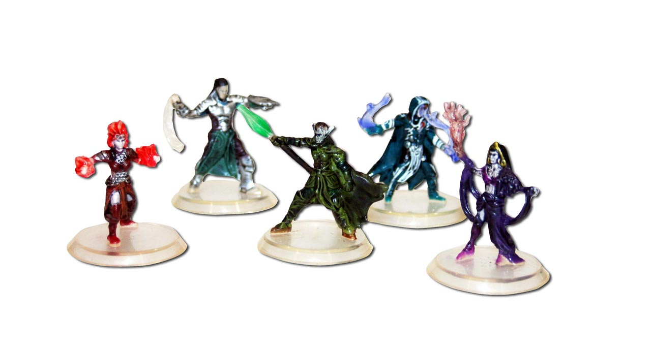 Board game review: Magic: The Gathering – Arena of the ... Planeswalker Arena Miniatures Size