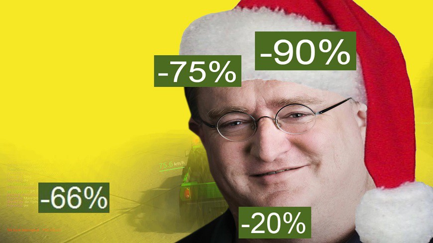 Steam Christmas