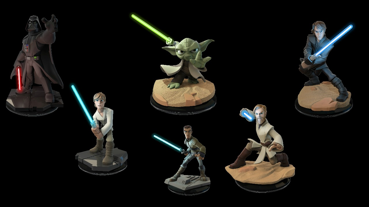 disney infinity 3 0 characters with light up lightsabers are coming nag. Black Bedroom Furniture Sets. Home Design Ideas