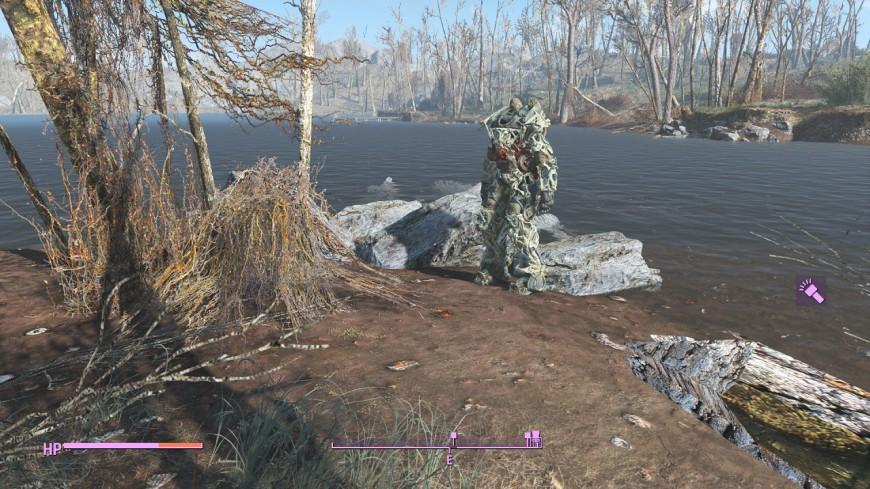 Fallout 4 with Vivid Fallout (medium-ish settings)