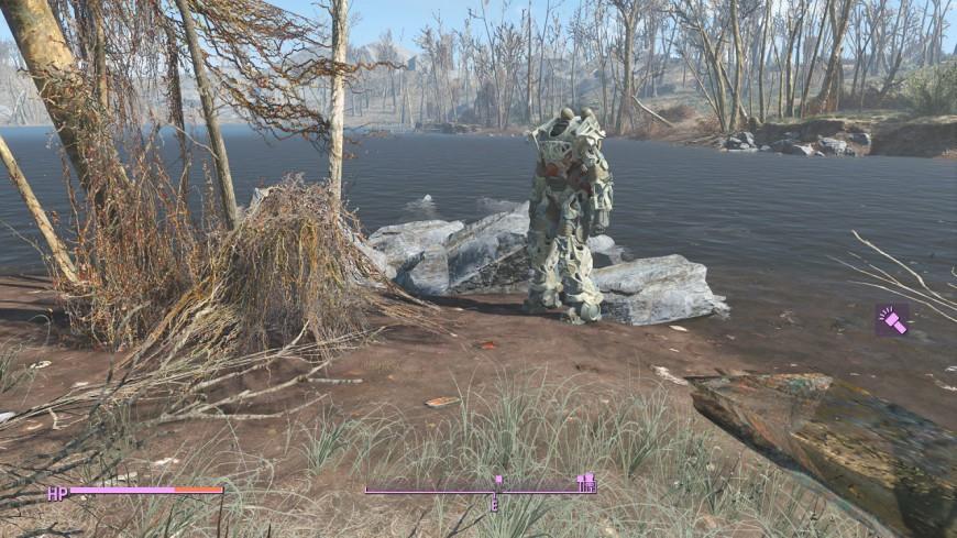 Fallout 4 without Vivid Fallout (medium-ish settings)