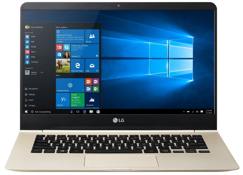 LG gram ultrabook windows 10