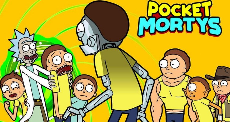 Pocket Mortys Cover