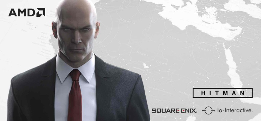 AMD Radeon Hitman bundle header
