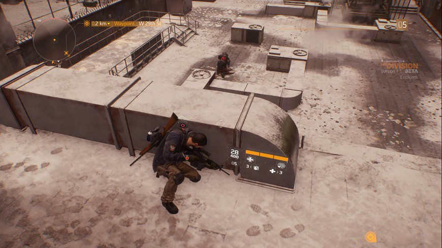 Division gameplay 2